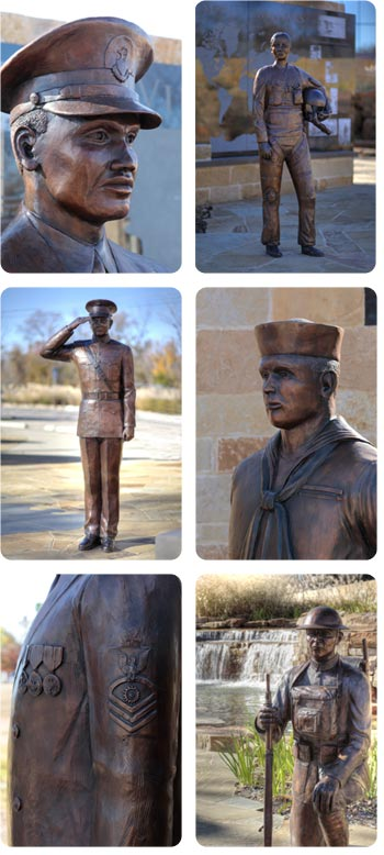 Irving Veterans Memorial Details